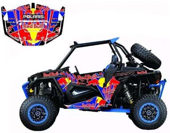 Kit Gráfico UTV Can-am Maverick 1000 - Redbull 1