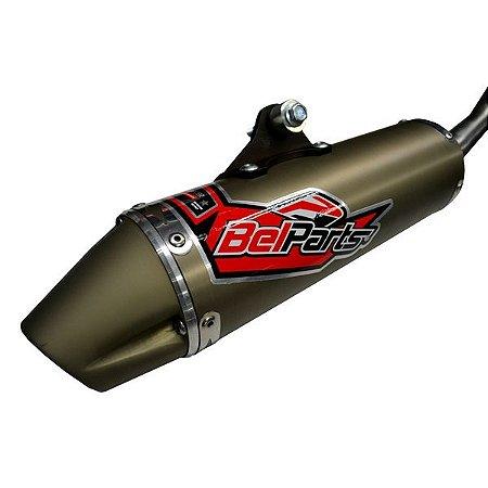 Escapamento FULL Esportivo BelParts - Fourtrax 420cc (2014 até 2018)
