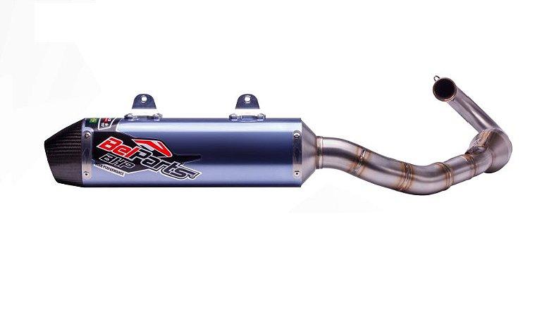 Escapamento FULL Esportivo BelParts em Carbono - Fourtrax 420cc (2014 até 2018)