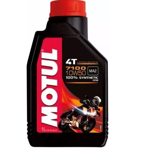 Óleo de Motor para Quadriciclo e UTV Polaris - MOTUL 7100 10W50 4T 1Litro