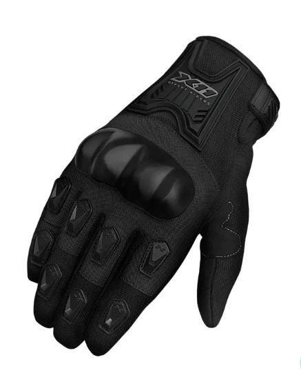 Luva X11 Blackout com Protetor - Preta