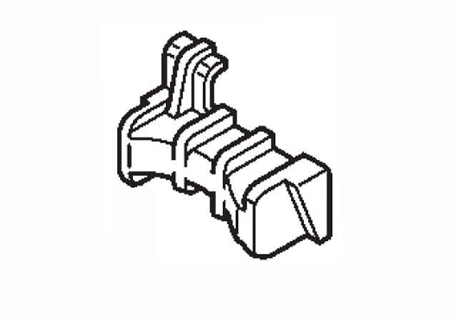 Coxim Fixação do Tanque de Combustível Honda Foutrax 420 (2008 até 2013)
