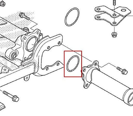 Anel de vedação  66mm Garfo Traseiro  Honda fourtrax 420 (2014 até 2019)