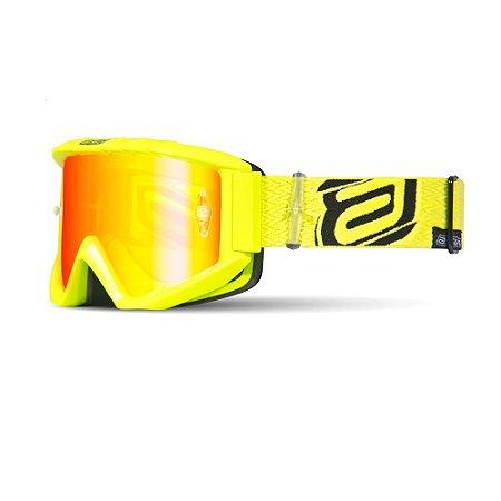 Óculos ASW A3 Asflux - Amarelo