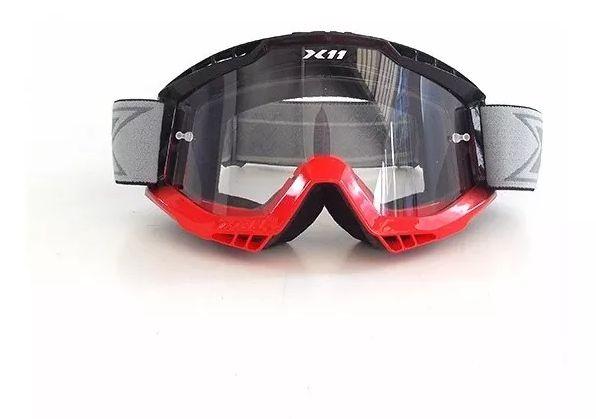 Óculos MX Ramp  X-11 - Vermelho