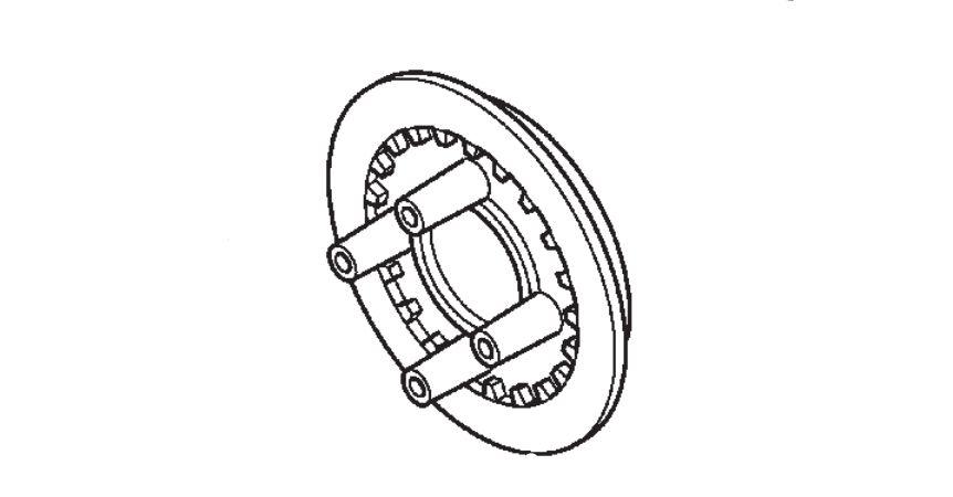Plato da Embreagem Honda Fourtrax 420 (2008 até 2019)