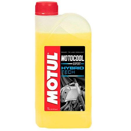 Fluído para Radiador de Motos e Quadriciclos Motul Motocool Expert (pronto para uso) 1L