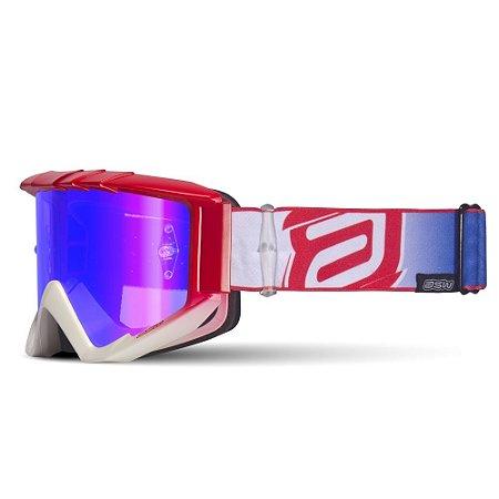 Óculos ASW A3 Flight - Vermelho/Azul