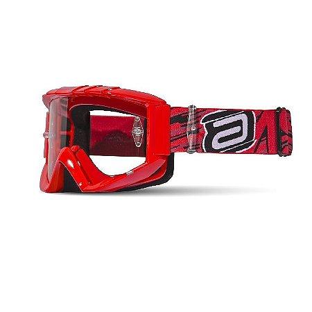 Óculos ASW A2 Storm - Vermelho
