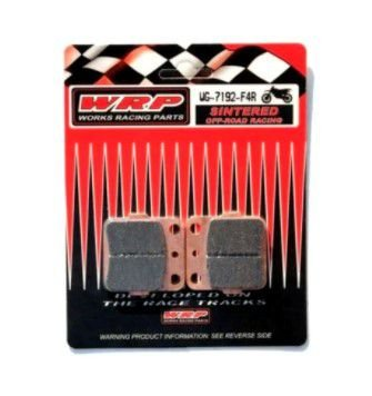 Pastilha Freio Dianteiro Honda Fourtrax 420 - 2008 até 2020 (1 PAR) - WRP OFF-ROAD RACING