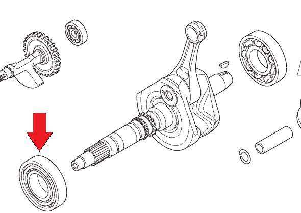 Rolamento Radial Esferas 40x85x18  Honda Fourtrax 420 (2012 até 2013)