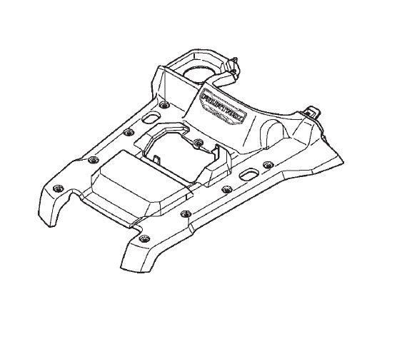 Carenagem Dianteira Central Honda Fourtrax 420 (2014 até 2017)