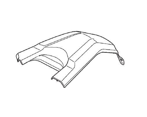 Carenagem Tanque de Combustível Honda Fourtrax (2014 até 2019)