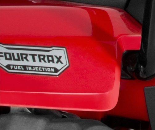 Adesivo Original Honda ''Fourtrax Fuel Injection'' Traseira (2014 até 2018)