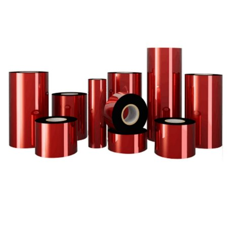 Ribbon Cera ( Premium ) Preto 110mm x 74m - Caixa com 12 Unidades