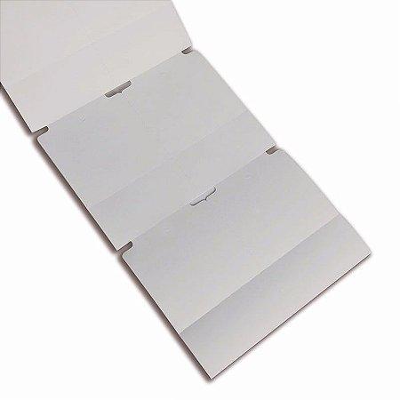 Etiqueta TAG para Roupas 50x75mm com 02 Colunas e Picote