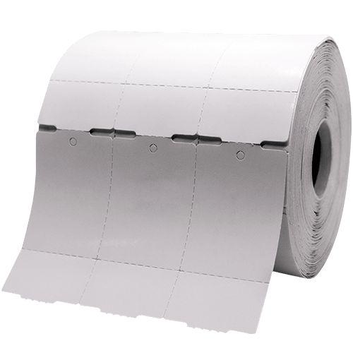 Etiqueta TAG para Roupas 35x60mm com 03 Colunas e Picote
