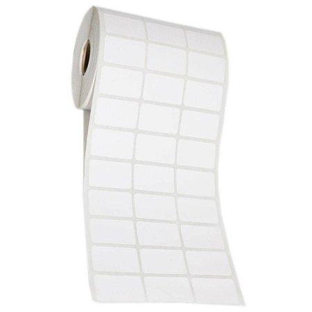 Etiqueta Adesiva Couche 32x18mm Branca 3 colunas