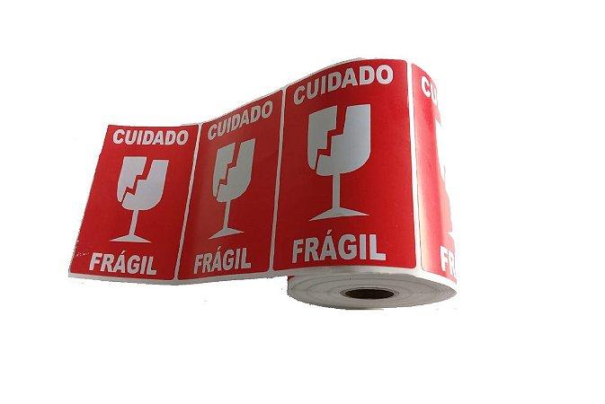 Etiqueta Selo Frágil Para Transporte De Mercadorias