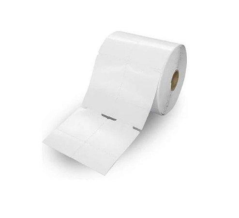 Etiqueta TAG para Roupas 50x75 mm com 02 Colunas e Picote - 10 Rolos