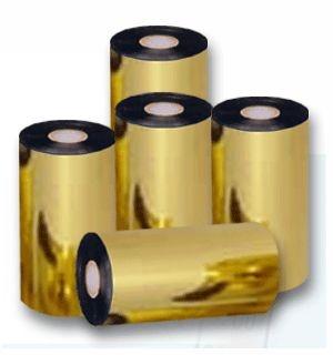 Ribbon Super Misto Premium (Resina/Cera/Resina) Preto- 110mm x 74m
