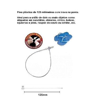 Pino Trava Anel Para Roupas 125mm