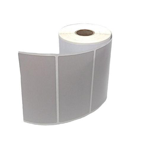 Etiqueta Adesiva BOPP 100x50 mm Branca 01 coluna