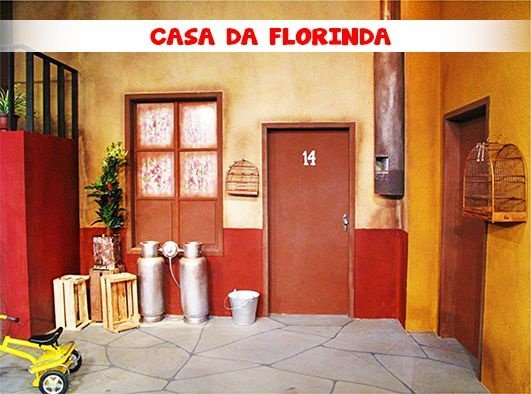 Fundo Fotografico - A Vila CASA DA FLORINDA (1,50 x 2,10 metros)