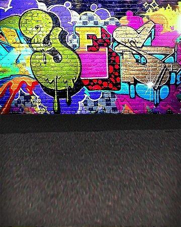Fundo Fotografico - Graffiti (1,50 x 2,10 metros)