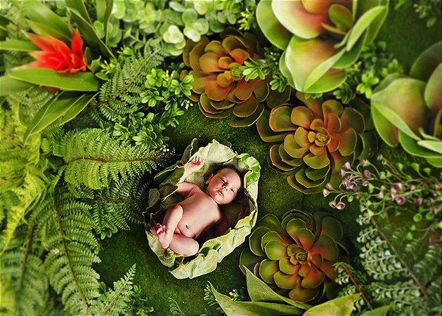 Fundo Fotografico - Natural Garden 2 (1,50 x 2,10 metros)