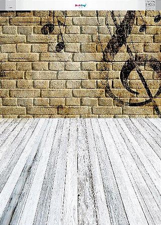 Fundo Fotografico Musical 01 (1,50 x 2,10 metros)