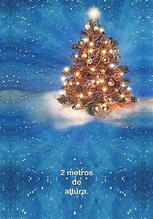 Fundo Fotografico Árvore de Natal 01 (1,50 x 2,10 metros)