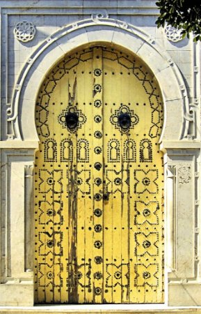 Porta 07 Amarela (2 x 1,40 metros)