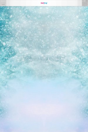 Fundo Fotografico - Neve de Natal (1,50 x 2,10 metros)