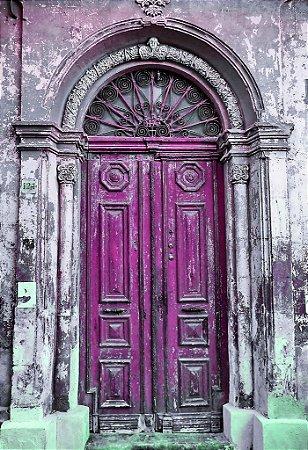 Porta 04 Violeta (2 x 1,40 metros)