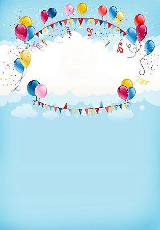 Fundo Fotografico - Balloon (2 x 1,40 metros)