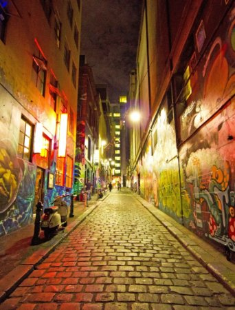 Fundo Fotografico Cidade Escura (1,50 x 2,10 metros)