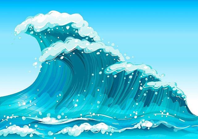 Fundo Fotografico Wave 2 (2,10 x 1,50 metros)