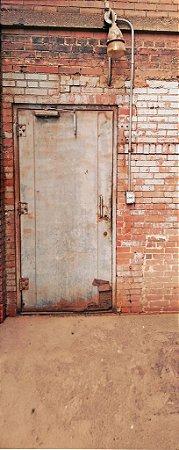 Fundo Fotografico - Brick Door ( 1,50 x 4 metros)