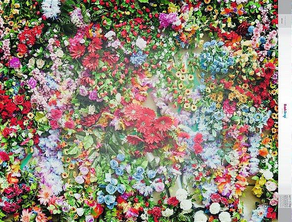 Fundo Fotografico - Multi Floral (1,50 x 2,10 metros)