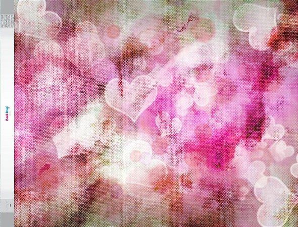 Fundo Fotografico - Love 2 (1,60 x 2,10 metros)