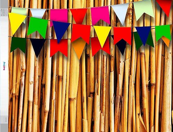 Fundo Fotografico - Bambu Bandeira 2 (1,50 x 2,10 metros)