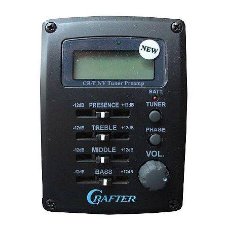 Eletrônica para violão Crafter CRT- NV