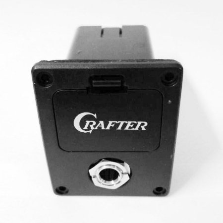 Compartimento Crafter para bateria 9V com jack - FX