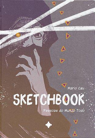 Sketchbook #1 - Pessoas do Mundo Todo