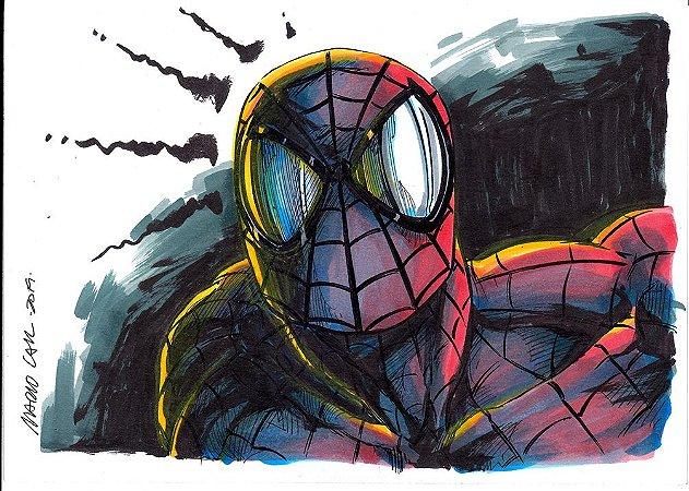 Homem-Aranha - Arte original (YouTube)