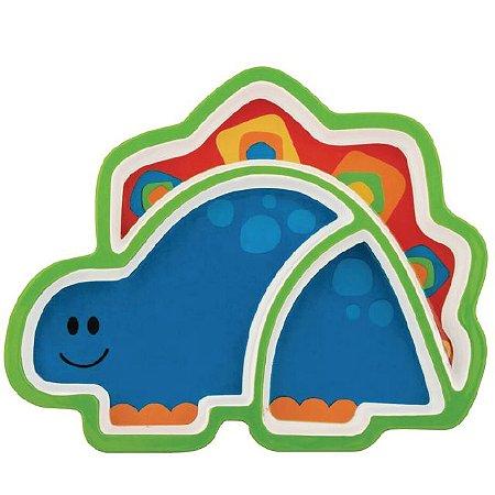 Prato Infantil Dino Stephen Joseph