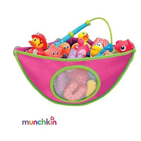 Organizador de Brinquedos para Banheiro Rosa Munchkin