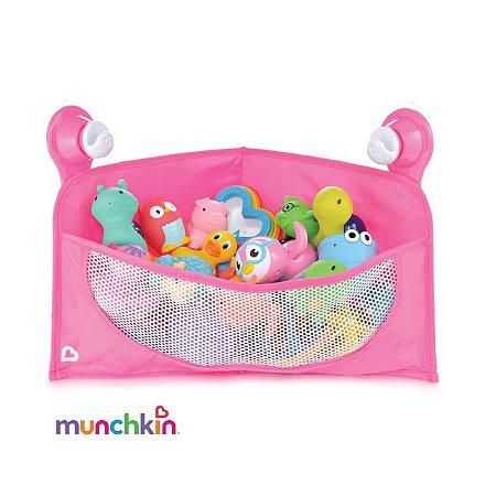 Cesta Organizadora de Brinquedos de Banho - Rosa - Munchkin