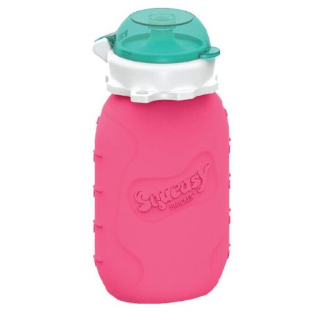 Squeasy Baby 180ml Gear Pink